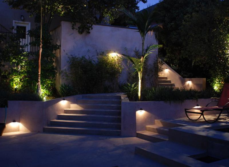 great with iluminacion exterior led jardin - Iluminacion De Jardines
